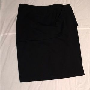cabi black pencil skirt